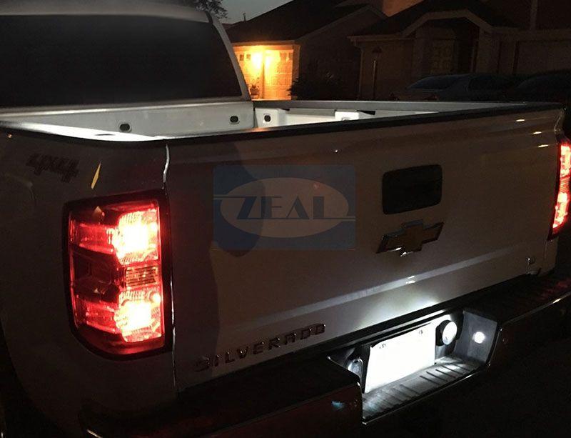 Chevy LED License Plate Light ZL-L04