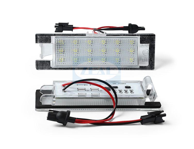 Opel LED License Plate Light ZL-J01