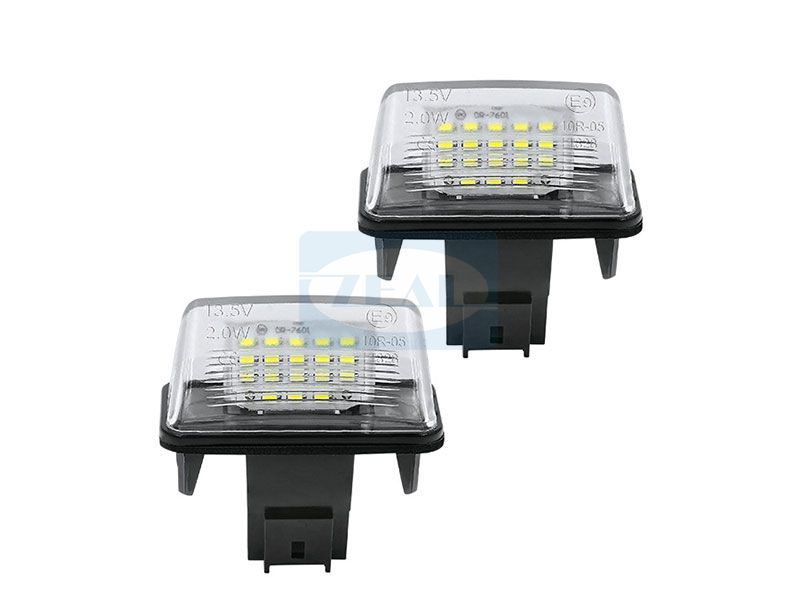 Peugeot LED License Plate Light ZL-F01