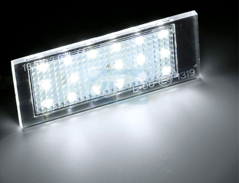 Renault LED License Plate Light ZL-P01