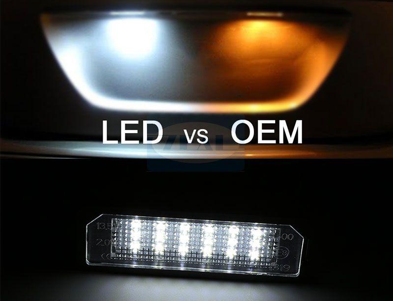 VW LED License Plate Light ZL-D01