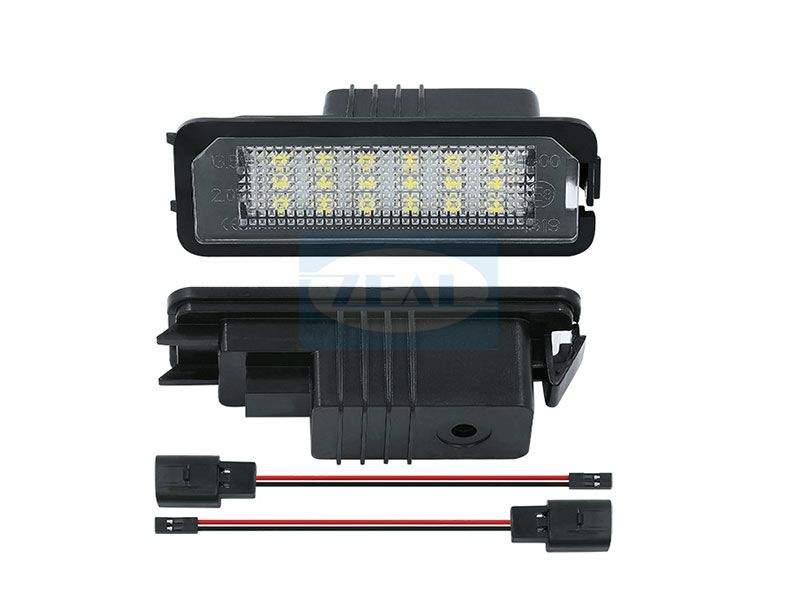 VW LED License Plate Light ZL-D01
