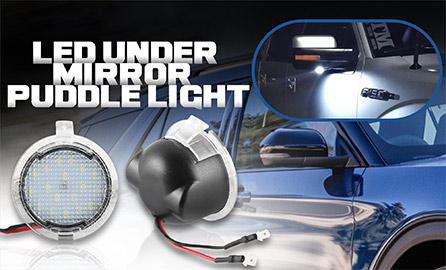 LED Under Mirror/Puddle Light