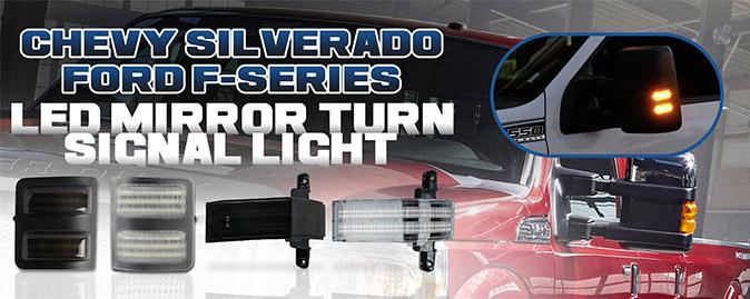 Truck LED Mirror Turn Signal Light